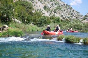 Srpnové chorvatské řeky